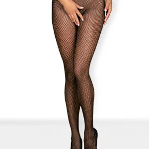 Obsessive Netzstrumpfhose schwarz mit aufregende Muster